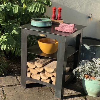 Modular Kitchen Work Station in garden