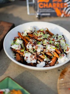 Carrots and Toasted Nuts Fire Pit Lifestyle - Firepits UK - WEB - Lo Res