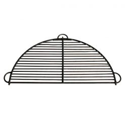 Half Moon BBQ Rack All Bar Fire Pit Cut Out - Firepits UK - WEB - Lo Res