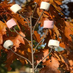 Marshmallow Fork for Fire Pit with Marshmallows Autumn Leaves Lifestyle - Firepits UK - WEB - Lo Res