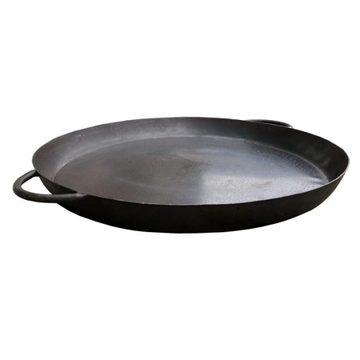 Skillet Pan for Fire Pit Cut Out Side View - Firepits UK - WEB - Lo Res