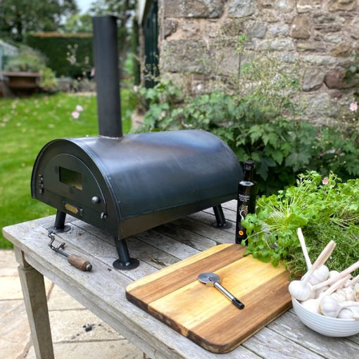 Table Top Pizza Oven Fire Pit Lifestyle - Firepits UK - WEB - Lo Res5