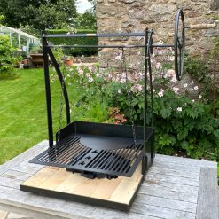 Katherine Wheel BBQ Fire Pit Lifestyle - FirepitsUK - WEB - LoRes